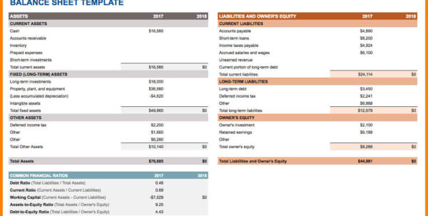 Google Spreadsheet Balance Sheet Template Within 6  Google Spreadsheet Examples  Pear Tree Digital
