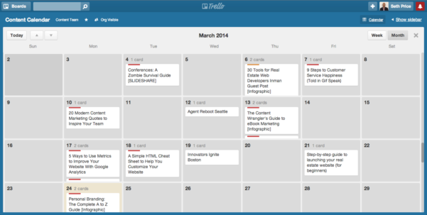 Google Spreadsheet Calendar Within How To Create An Editorial Calendar For Your Content Marketing