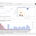 Google Spreadsheet Dashboard Inside Google Sheets Addon For Google Analytics