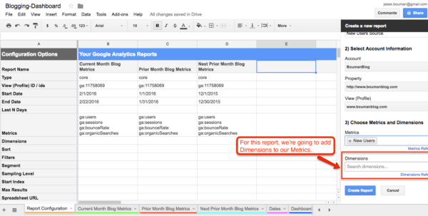 Google Spreadsheet Dashboard With How To Create A Custom Business Analytics Dashboard With Google