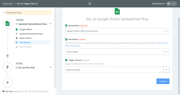 Google Spreadsheet Database For Spreadsheet Crm: How To Create A Customizable Crm With Google Sheets