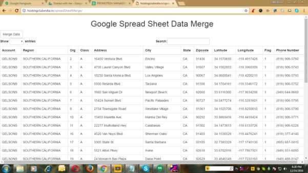 Google Spreadsheet Database With Regard To Google Spread Sheet Synchronization With Mysql Databasewhitelion