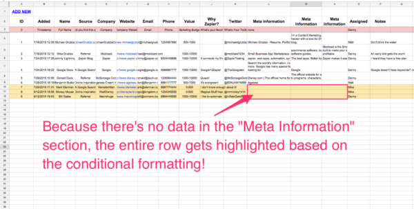 Google Spreadsheet Database With Regard To Spreadsheet Crm: How To Create A Customizable Crm With Google Sheets