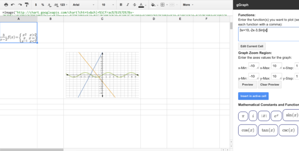 Google Spreadsheet Graph With 50 Google Sheets Addons To Supercharge Your Spreadsheets  The