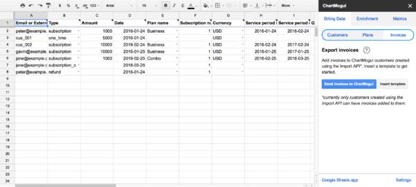 Google Spreadsheet Help Regarding Import Billing System Data From A Google Sheet – Help Center