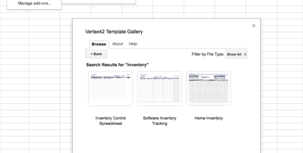 Google Spreadsheet Inventory Template Within Top 5 Free Google Sheets Inventory Templates · Blog Sheetgo