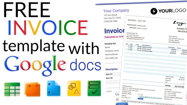 Google Spreadsheet Invoice With Regard To 023 Google Doc Invoice Template Docs Excel Spreadsheet Or Uk