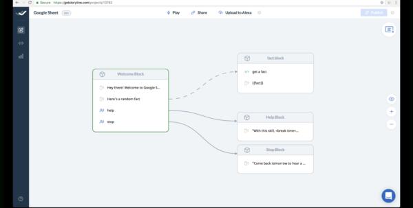 Google Spreadsheet Json Api Inside How To Create A Skill For Amazon Alexa Using Google Sheets And Storyline