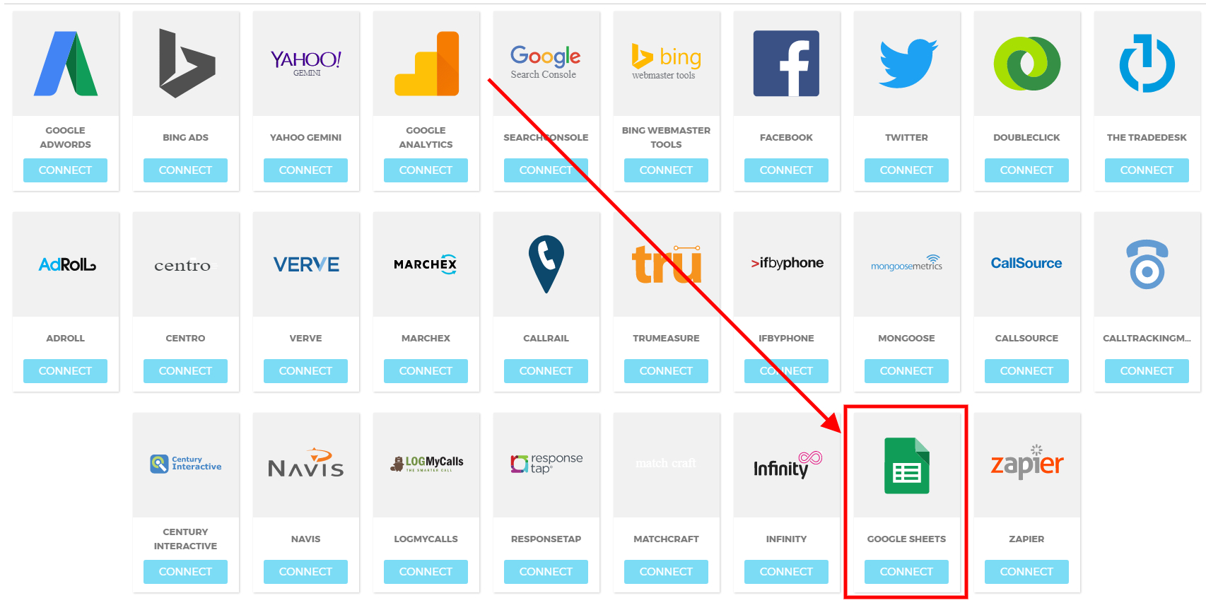 Google Spreadsheet Login Throughout Integrating With Google Sheets – Ninjacat Support