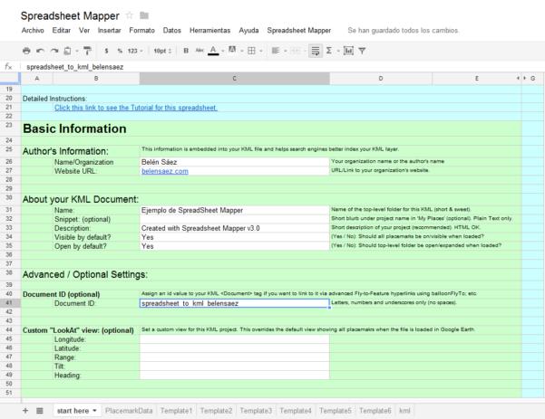 Google Spreadsheet Mapper For Google Spreadsheet Mapper  Hablemos De Gis
