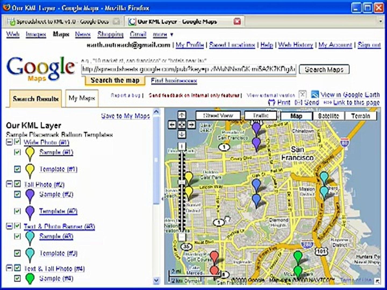 Google Spreadsheet Mapper In Spreadsheet Mapper 2.0  Video Dailymotion