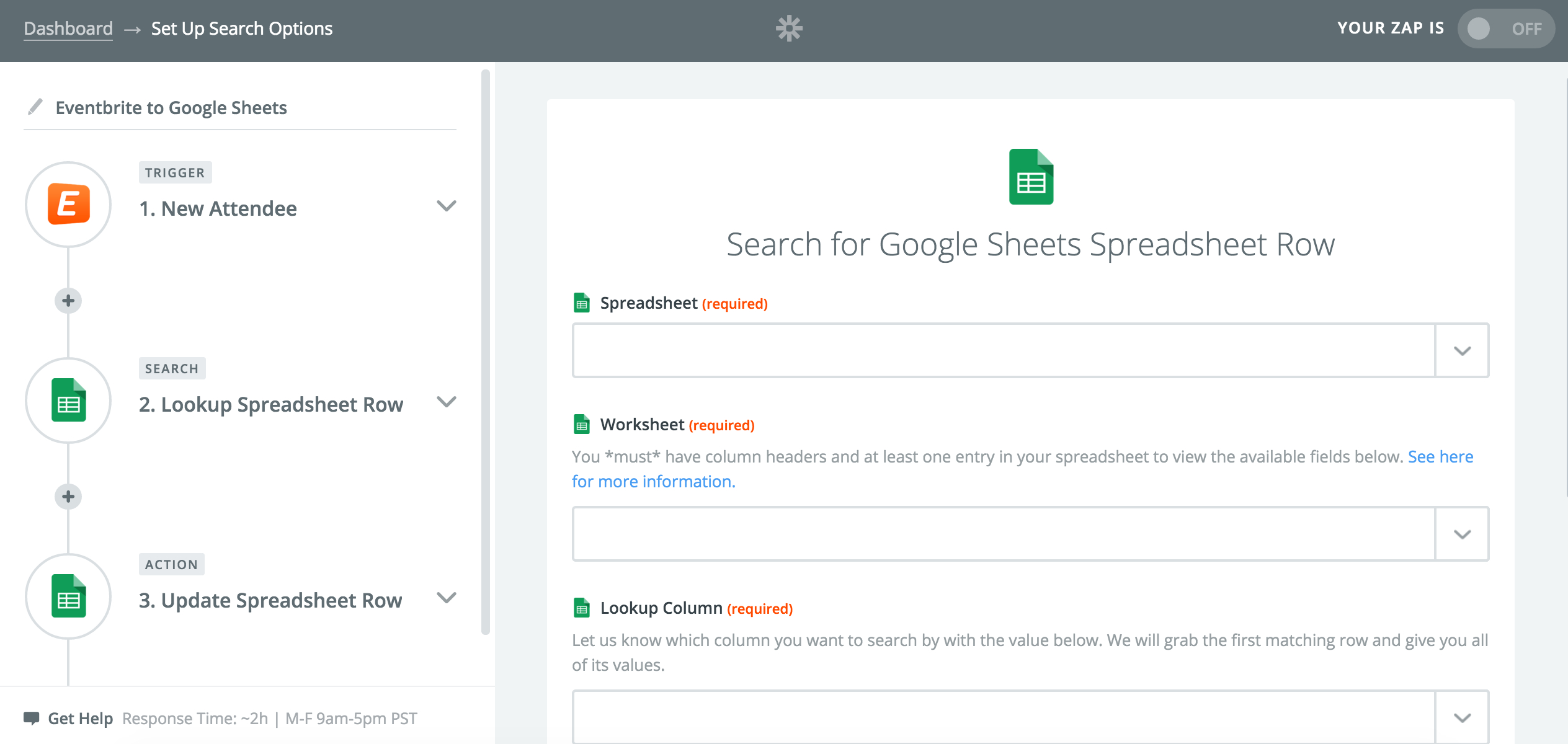 Google Spreadsheet Search Pertaining To Automate Google Sheets: Search For Existing Rows  Updates  Zapier