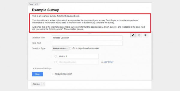 Google Spreadsheet Survey Form In How To Create A Free Survey With Google Docs – Tutorial Tuesday