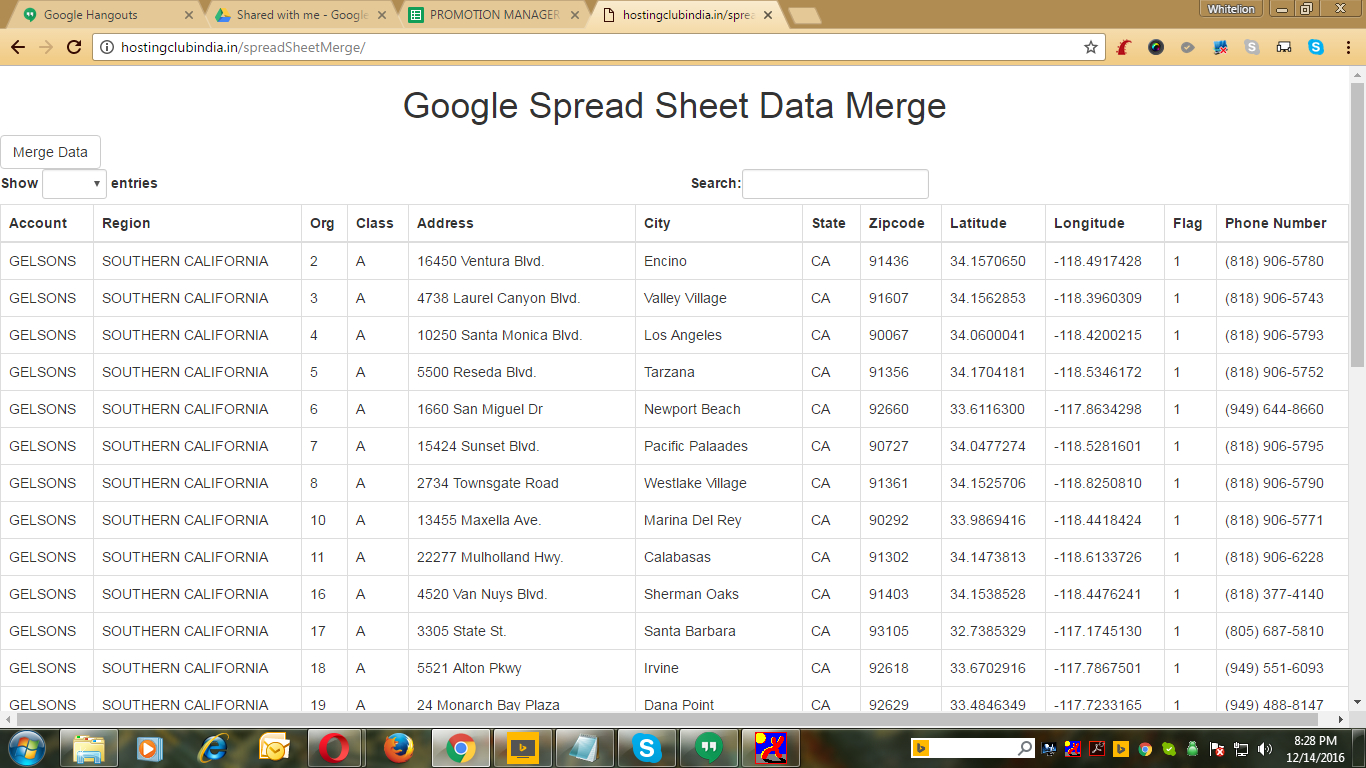 Google Spreadsheet To Mysql Database Throughout Google Spread Sheet Synchronization With Mysql Databasewhitelion
