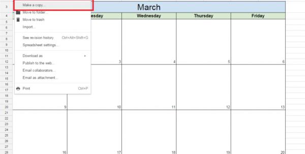 Google Spreadsheet Tutorial For How To Create A Free Editorial Calendar Using Google Docs  Tutorial