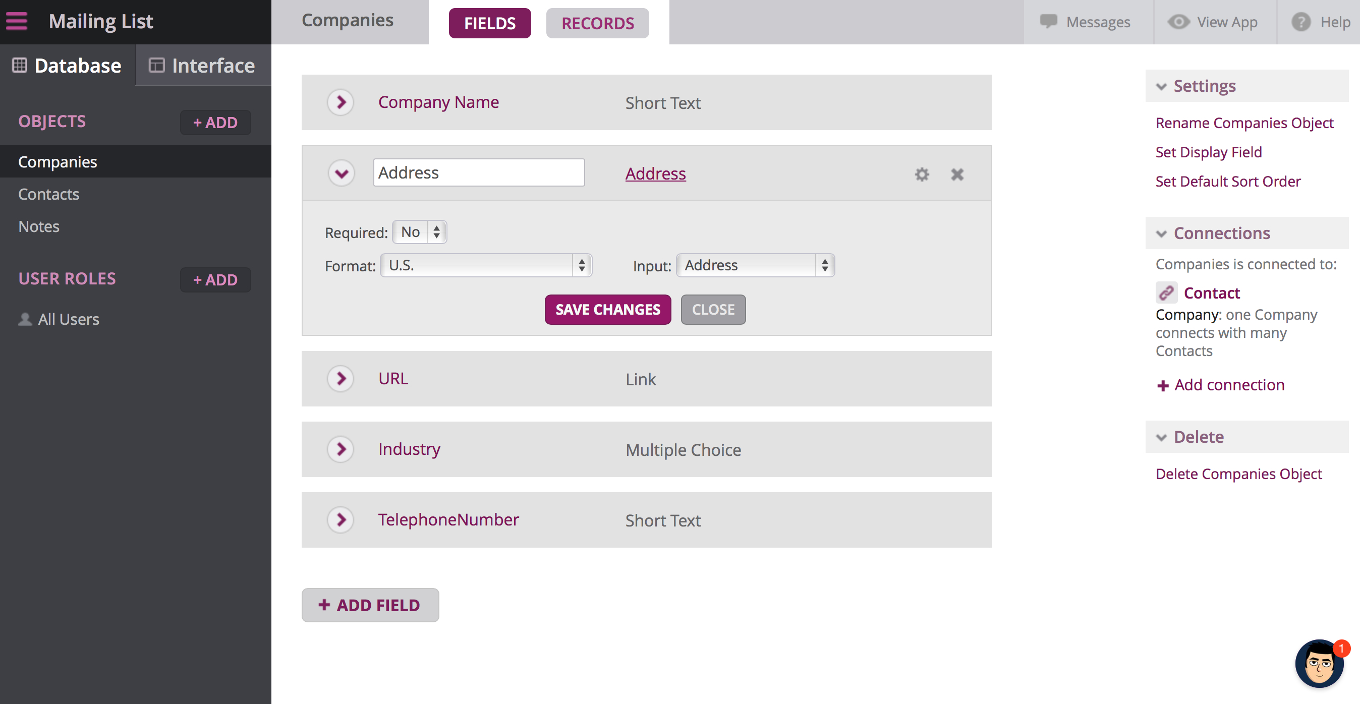 Google Spreadsheet Website Database Inside Building An App The Simple Way: 6 Databasepowered App Builders
