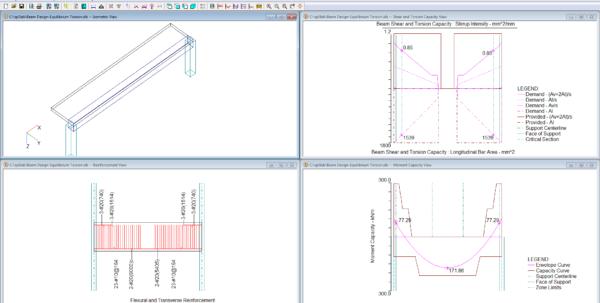 Grade Beam Design Spreadsheet Pertaining To Reinforced Concrete Beam  Slab Analysis  Design Software