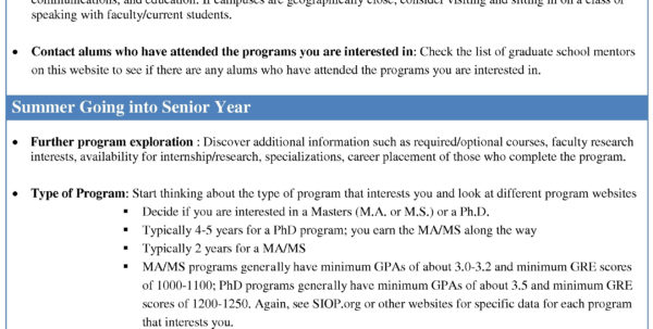 Graduate School Spreadsheet Throughout Complete Graduate School Timeline  Industrial And Organizational