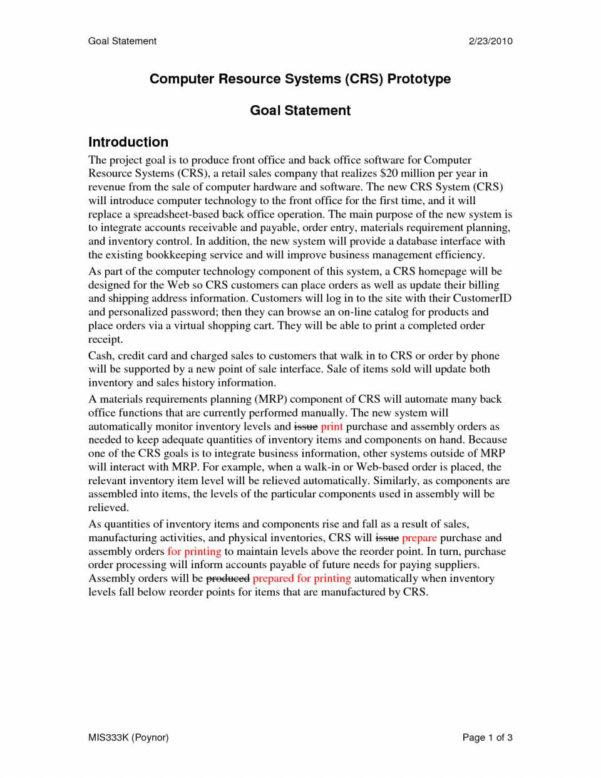 Graduate School Spreadsheet With Regard To Goal Statement Examples For Graduate School  Pulpedagogen