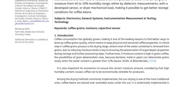 Grain Moisture Spreadsheet Regarding Pdf Measuring Coffee Bean Moisture Content