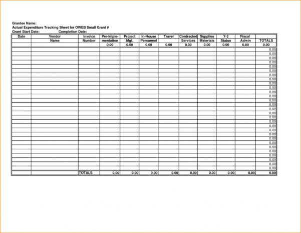 Grant Tracking Spreadsheet Template For Grant Tracking Spreadsheet Example Glasgowfocus Applic Template