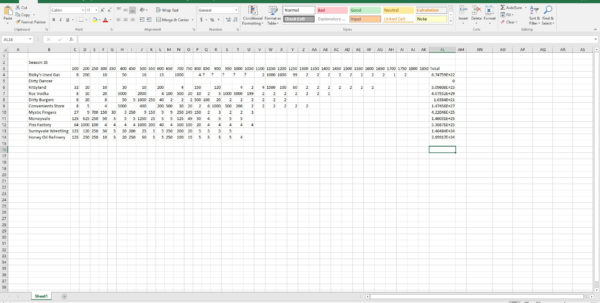 Greasy Money Spreadsheet Within Customer Bonuses Spreadsheet : Greasymoney
