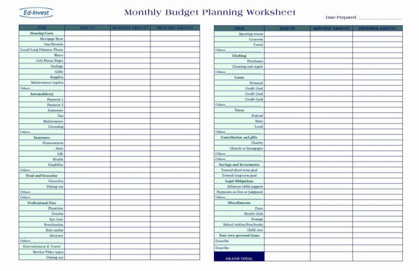 Grocery Budget Spreadsheet With Free Monthly Budget Template Frugal Fanatic Example Of Grocery