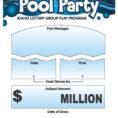 Group Lottery Spreadsheet In Idaho Lottery