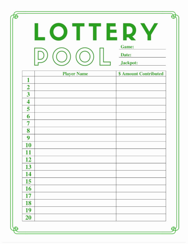 Group Lottery Spreadsheet Inside Lottery Pool Spreadsheet Template Inspirational Excel Inventory