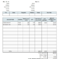 Gst Spreadsheet Template Australia Inside Australian Gst Invoice Template With Regard To Sample Business