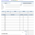 Gst Spreadsheet Template Canada With Regard To Service Invoice Template