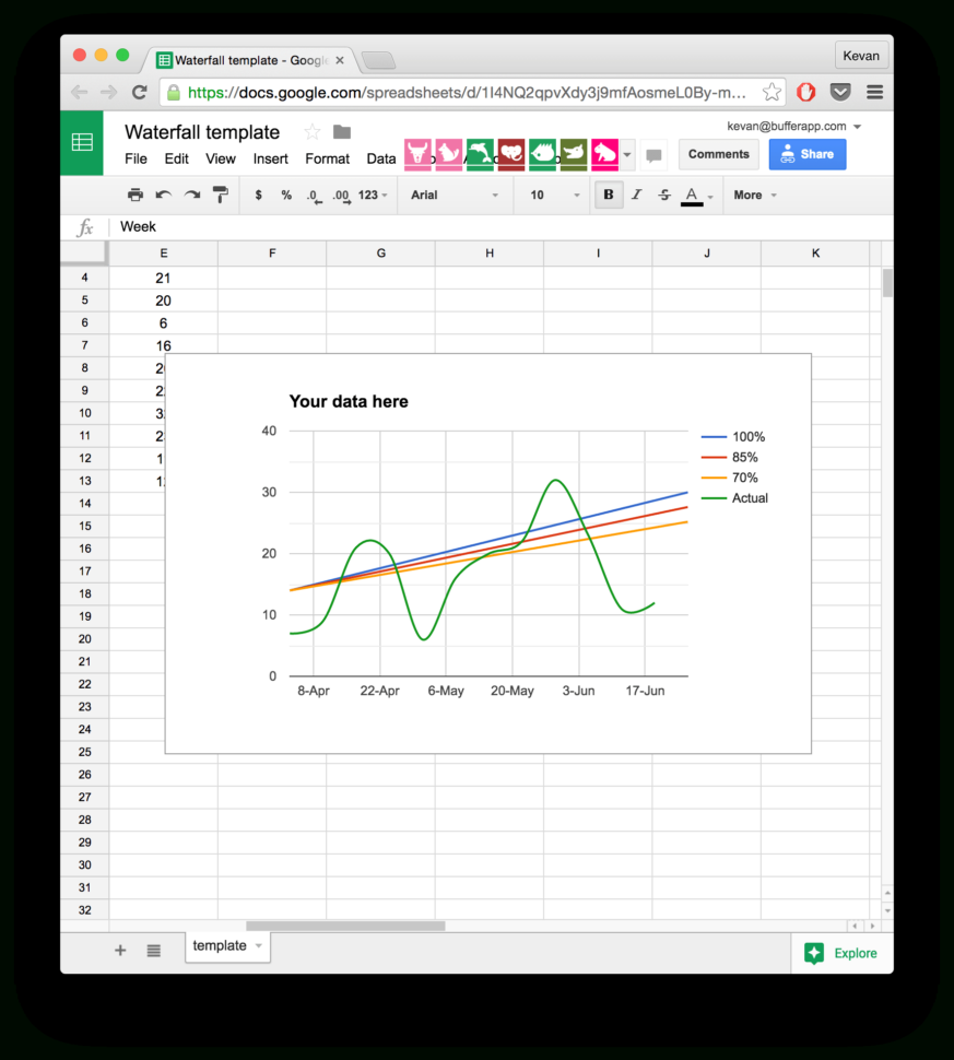 Hall Plot Spreadsheet Within Take Back Your Time With These 10 Readymade Spreadsheet Templates