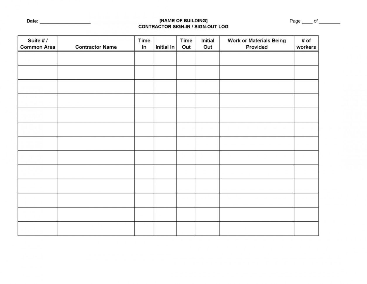Ham Radio Logging Excel Spreadsheet Intended For 012 Template Ideas Sign In Log Sheet ~ Ulyssesroom