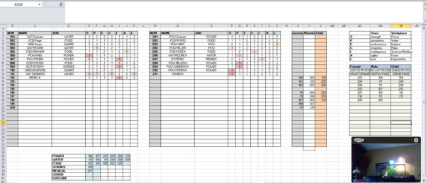 Hay Day Spreadsheet In I Made A Spreadsheet For Fallout Shelter  Imgur