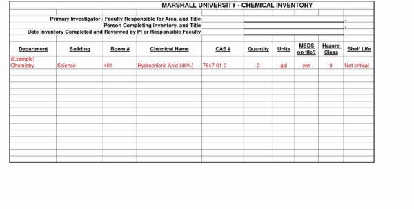 Hazardous Material Inventory Spreadsheet With Coffee Shop Inventory Spreadsheet  My Spreadsheet Templates