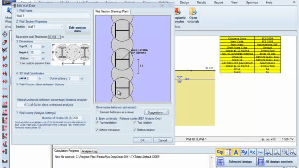 Helical Pile Design Spreadsheet With Pile Cap Design Spreadsheet Xls And Secant Pile Wall Design Example