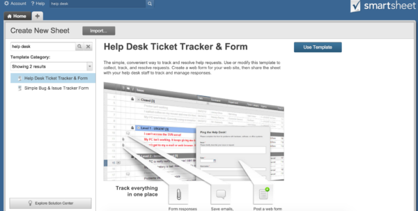 Help Desk Ticket Tracking Spreadsheet Inside How To Implement An Effective It Ticketing System  Smartsheet