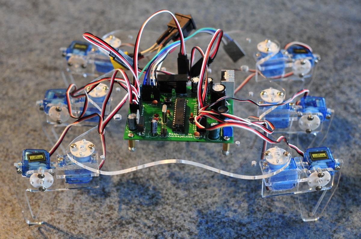 Hexabot Spreadsheet Pertaining To Building A Hexapod  Bajdi