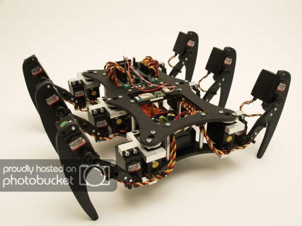 Hexabot Spreadsheet Within Project Phoenix, A Hexapod Robot  Legged Robots  Robotshop Community