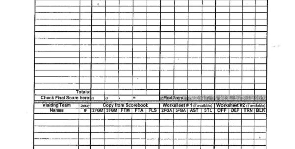 Hockey Stats Spreadsheet Template For Printable Basketball Stat Sheet Template Free Football Stats Excel