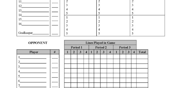 Hockey Stats Spreadsheet Template Inside Hockey Score Sheet  Altin.northeastfitness.co