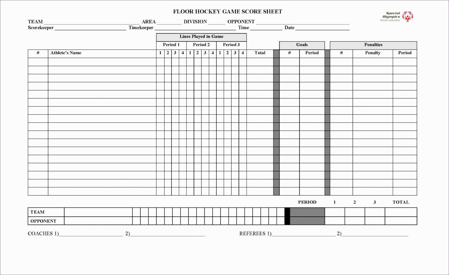 Hockey Stats Spreadsheet Template Intended For Printable Basketball Stat Sheet Template Free Football Stats Excel