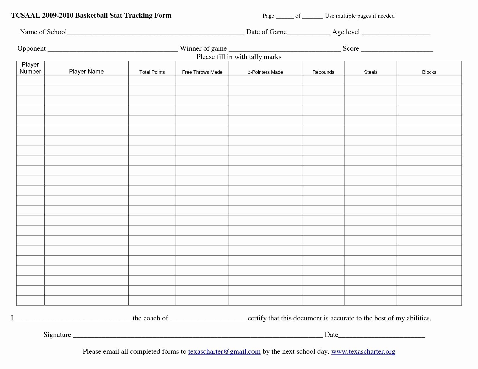 hockey stats spreadsheet template printable spreadshee