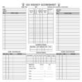 Hockey Stats Spreadsheet Template Within Hockey Score Sheet  Altin.northeastfitness.co