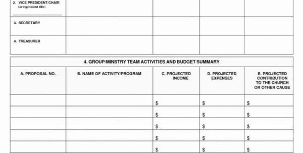 Hockey Team Budget Spreadsheet With Church Budget Template  Lorgprintmakers