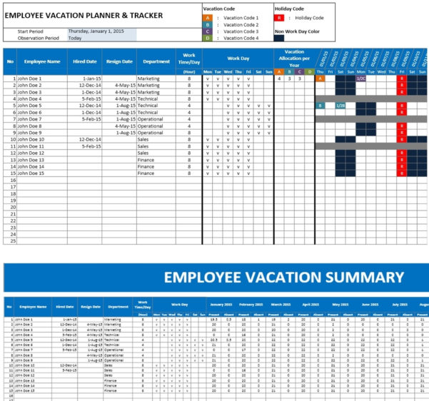 Holiday Planning Spreadsheet Intended For Excel Vacation Calendar  Rent.interpretomics.co