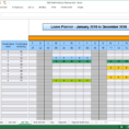 Holiday Spreadsheet inside The Staff Leave Calendar. A Simple Excel Planner To Manage Staff