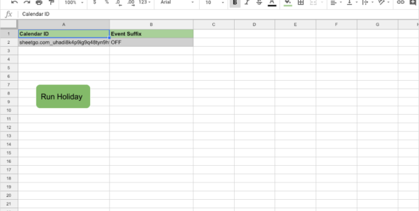 Holiday Tracking Spreadsheet With Regard To How To Setup Holiday Tracking In Less Than 10 Minutes · Blog Sheetgo