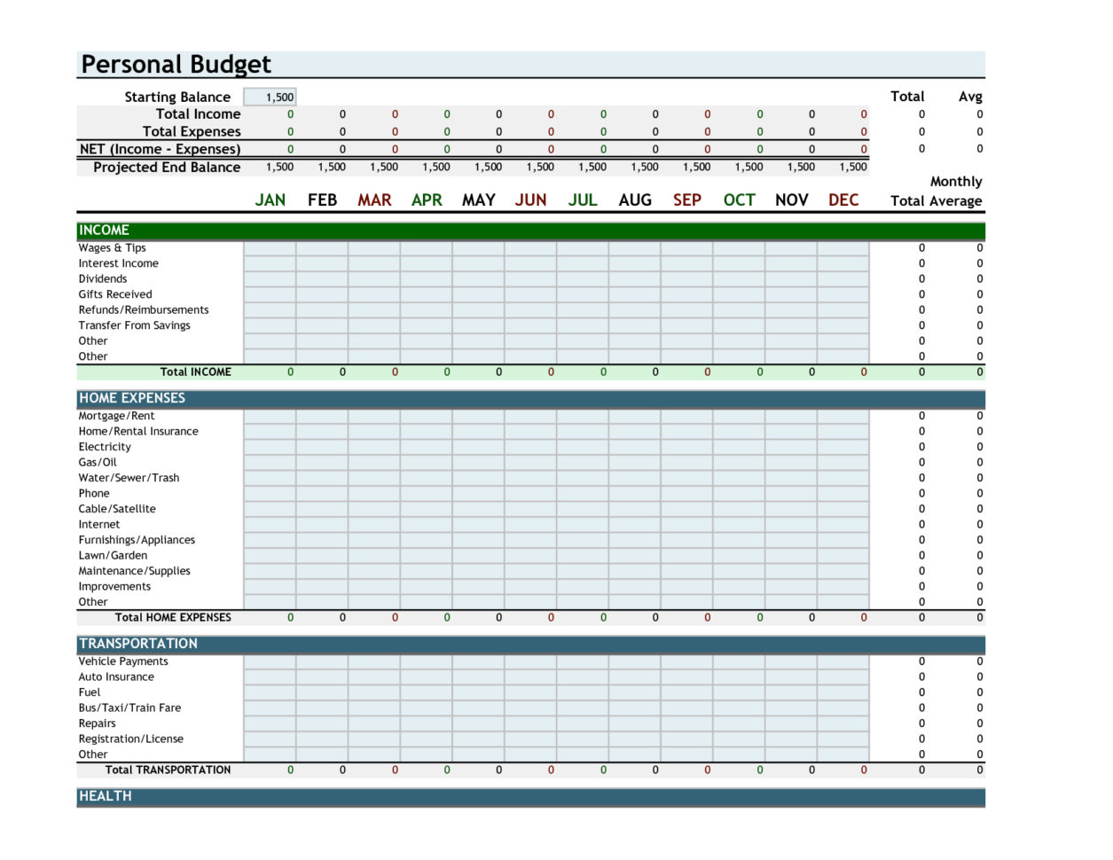 Home Budget Spreadsheet Australia Intended For Spreadsheet Example Of Monthly Budget Uk Expense Template Excel Ic