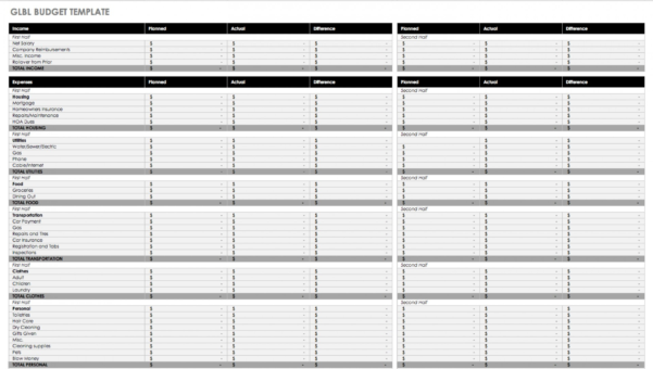 Home Budget Spreadsheet Template Free Inside 011 Free Household Budget Templates Template Ideas Home Spreadsheet